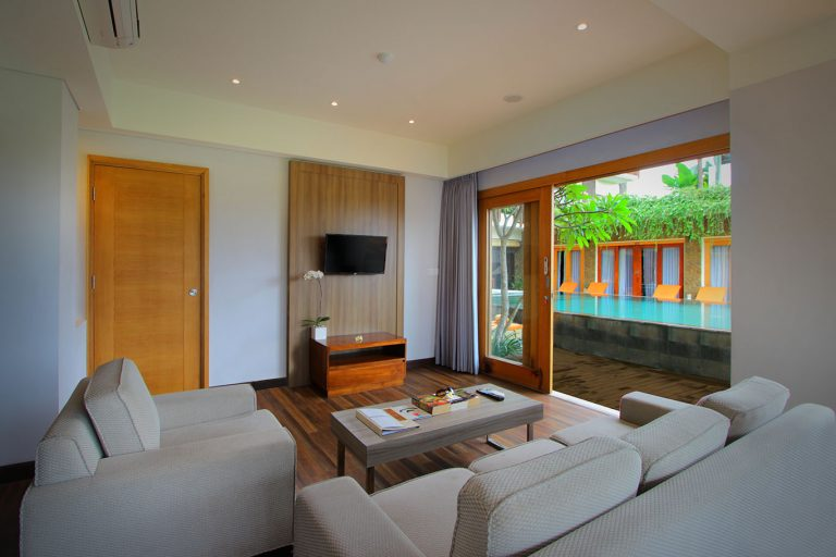 Kirana Suite Pool Access